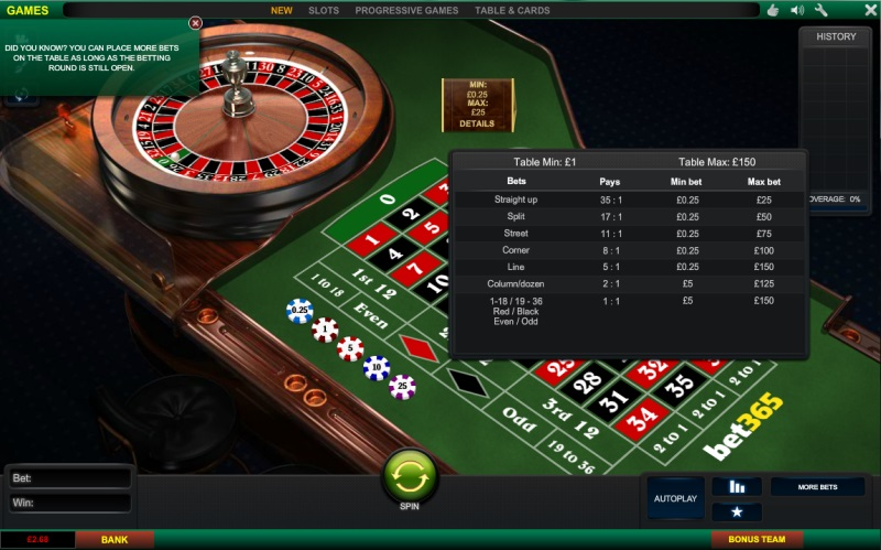 Roulette Apps with Real Money - Bet365