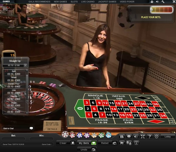 Free 25 for roulette on gala coral casino roulette stakes - Table tv a roulettes ...